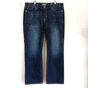 MEK Darthan Straight Leg Button Fly Jeans 42 x 33